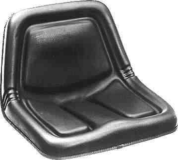 Sitz aufsitzmäher